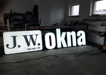 szyld JW Okna
