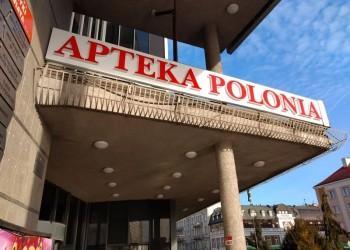 szyld Apteka Polonia
