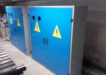 szafy elektryczne wtrakcie produkcji 2