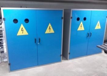 szafy elektryczne wtrakcie produkcji
