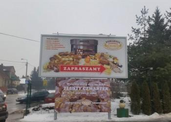 bilbordy reklamowe piekarni Okruszek