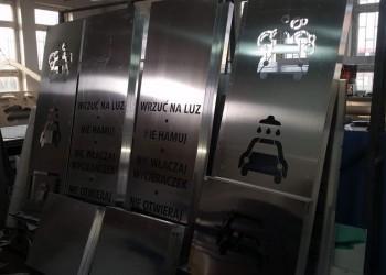 szyldy dla auto myjni wtrakcie produkcji 8